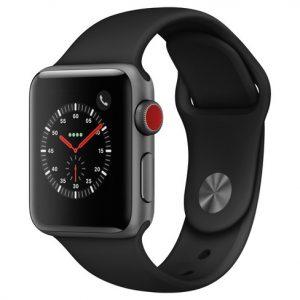 Apple Watch Series 3 38mm (GPS + Cellular) Aluminum Case