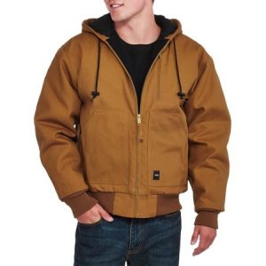 Walls Men's Insulated Duck Hooded Jacket
