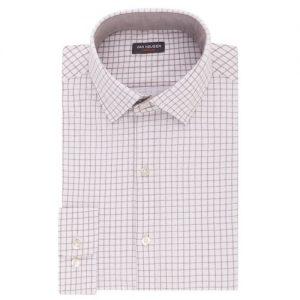 Checker mens dress shirt