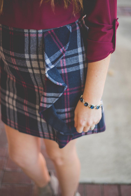 girl in workwear