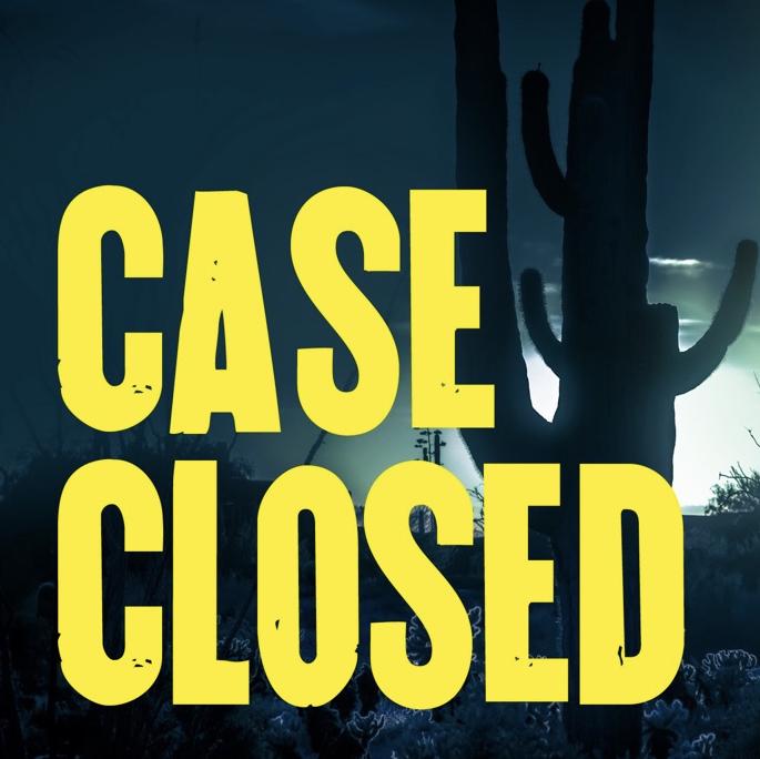 cased closed