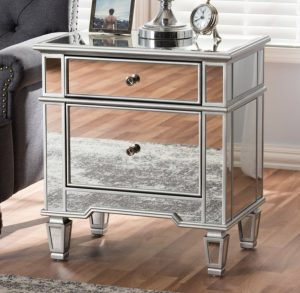Mirror nightstand