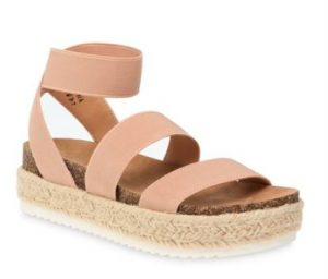 Time and Tru Women's Flatform Sandals