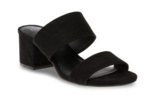 Women's Time and Tru Block Heel Mule Sandal